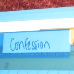 Prayer Binder:  Confession