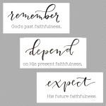 Remember God's Past Faithfulness  {No Matter What Monday}