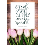 God Will Supply Every Need {No Matter What Monday}