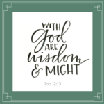 God Will Give the Wisdom You Need  {No Matter What Monday}